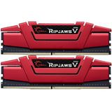 16GB G.Skill RipJaws V rot DDR4-2400 DIMM CL15 Dual Kit