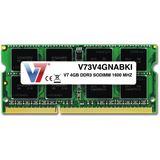 4GB V7 V73V4GNABKI DDR3-1600 SO-DIMM CL11 Single