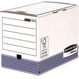Fellowes BANKERS BOX SYSTEM Archiv-Schachtel, blau, (B)200mm