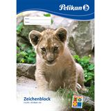 Pelikan Zeichenblock C 3/20, DIN A3, 100 g/qm, 20 Blatt