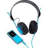 Intenso Video Scooter Special Edition - MP3 Player 8 GB + Kopfhörer, blau