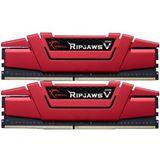 32GB G.Skill RipJaws V rot DDR4-3333 DIMM CL16 Quad Kit