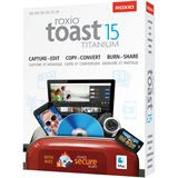 Corel Toast 15.0 Titanium 32 Bit Multilingual Videosoftware Vollversion Mac (DVD)