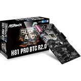 ASRock H81 Pro BTC R2.0 Intel H81 So.1150 Dual Channel DDR3 ATX Retail