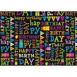 """SUSY CARD Geschenkpapier """"Your day black"""", auf Rolle"""