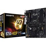 Gigabyte GA-B250-HD3P Intel B250 So.1151 Dual Channel DDR ATX Retail