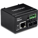 TrendNet Konverter 100Base-FX Industrial Single M. SC 30KM IP 30