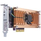 QNAP DUAL M.2 22110/2280 PCIE SSD EXPANSION CARD