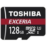 128 GB Toshiba Exceria M302-EA microSDXC Class 10 UHS-I U3 Retail inkl. Adapter