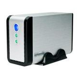 """3.5"""" (8,89cm) Fantec FB-C35DUS Alu SATA USB 2.0 Silber"""