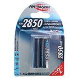 ANSMANN HR6 Nickel-Metall-Hydrid AA Mignon Akku 2650 mAh 2er Pack