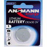 ANSMANN CR2430 Lithium Knopfzellen Batterie 3.0 V 1er Pack