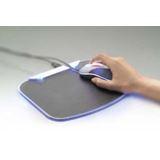 Belkin Mauspad Lighted Schwarz/Blau USB 2.0