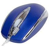 A4Tech DualFocus Maus, 4 Tasten, blau