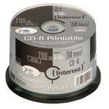 Intenso CD-R 700 MB bedruckbar 50er Spindel (1801125)