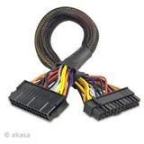 Akasa 30cm ATX Verlängerung für Netzteile (AK-CB24-24-EXT)