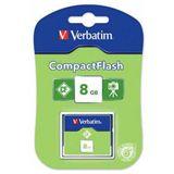 8 GB Verbatim Standard Compact Flash TypI 20x Bulk