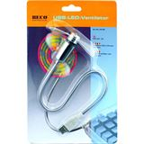 Beco USB-LED-Ventilator 5 LEDs Blister