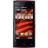 Nokia X6 16 GB schwarz/rot T-Mobile