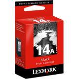 Lexmark Druckkopf mit Tinte 14a 18C2080E schwarz