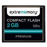 2 GB Extrememory Performance Compact Flash TypI 120x Bulk