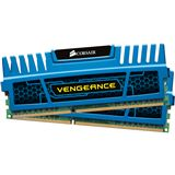 8GB Corsair Vengeance blau DDR3-1600 DIMM CL9 Dual Kit