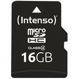 16 GB Intenso Standard microSD Class 2 Bulk