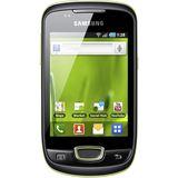 Samsung Galaxy Mini S5570 160 MB schwarz/limette