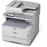 OKI MC362dn Farblaser Drucken/Scannen/Kopieren/Faxen LAN/USB 2.0