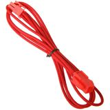 BitFenix 4-Pin ATX12V Verlängerung 45cm - sleeved red/red