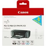 Canon Tinte PGI-72PMP Multipack 6403B007 schwarz photo,grau,magenta photo,cyan photo,chroma optimizer
