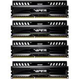 32GB Patriot Viper 3 Series Black Mamba DDR3-1600 DIMM CL10 Quad Kit
