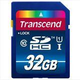 32 GB Transcend Premium UHS-I SDHC Class 10 Bulk