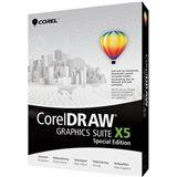 Corel CorelDraw Graphics Suite X5 - Special Edition 32/64 Bit Multilingual Grafik Vollversion PC (DVD)