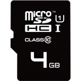 4 GB EMTEC Mini Jumbo Extra microSDHC UHS-I Retail inkl. Adapter
