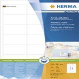 Herma 4677 Adressetiketten 6.35x3.81 cm (100 Blatt (2100 Etiketten))