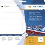 Herma 4692 strpazierfähig Universal-Etiketten 9.7x4,23 cm (25 Blatt (300 Etiketten))