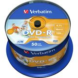 Verbatim DVD-R 4.7 GB bedruckbar 50er Spindel (43533)