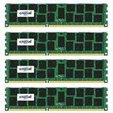 64GB Crucial CT4K16G4RFD4213 DDR4-2133 regECC DIMM CL15 Quad Kit