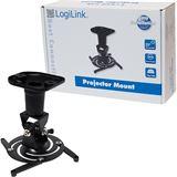 LogiLink Deckenhalter Projektor 22cm -15kg schwarz