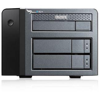 """6000GB Promise Pegasus2 R2+ F40PR2P00000005 3.5"""" (8.9cm) Thunderbolt / USB 3.0 schwarz"""