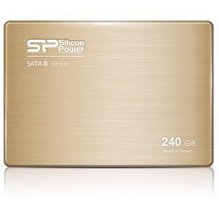 """240GB Silicon Power Slim S70 2.5"""" (6.4cm) SATA 3Gb/s MLC Toggle (SP240GBSS3S70S25)"""