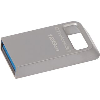 128 GB Kingston DataTraveler Micro silber USB 3.1