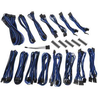 BitFenix Alchemy 2.0 PSU Cable Kit, EVG-Series - schwarz/blau