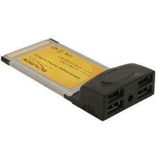 Delock 61234 4 Port PCMCIA retail