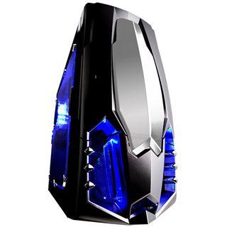 Raidmax Sagittarius Midi Tower ohne Netzteil schwarz/silber