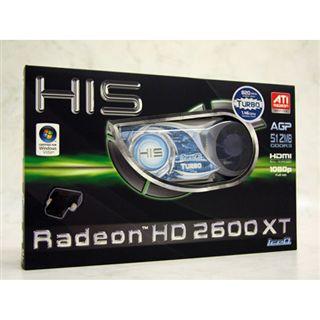 512MB HIS Radeon HD2600XT IceQ Turbo GDDR3 AGP