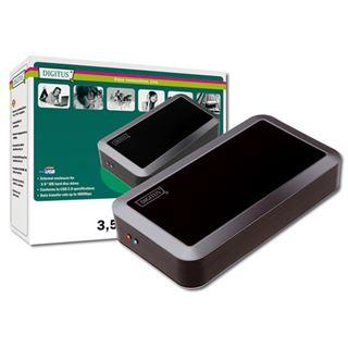 """3.5""""(8,89cm) Digitus Externes Gehäuse IDE USB 2.0 Schwarz"""