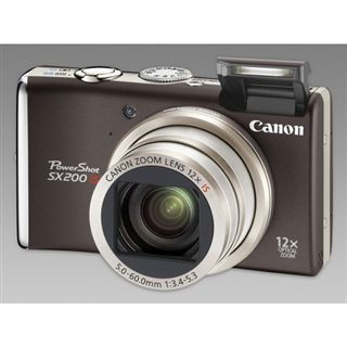 Canon PowerShot SX200 IS Schwarz