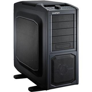 CM Storm Sniper Black Edition Midi Tower ohne Netzteil schwarz